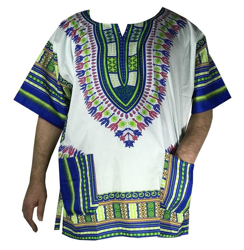 434c3c14c6b1 Men s Dashiki Shirt Hawaiian Beach Wear Cruise Tropical