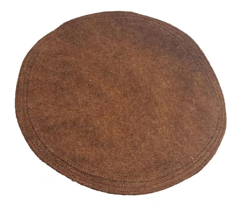 38a818b62 Wool Hat Afghani Topi Mens Pakol Tribal Tupi Pashtun Muslim Kufi Cap Red  Brown