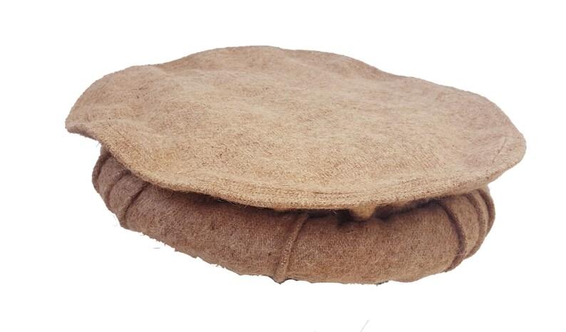 Afghan Pakul Chitrali Cap Pakol Hat Peshawari Handmade 100%  aa2fb8cd540