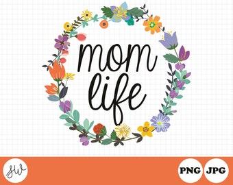 Mom Life Clipart