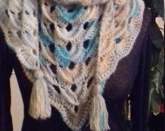 Scarf/shawl or shawlette crocheted
