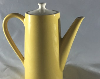 Vintage Midcentury Ceramic Coffee Carafe
