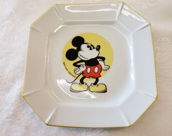 Disney Mickey Mouse Plate