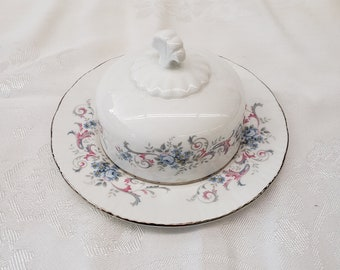 Vintage Paragon 6 inch Covered Dish Romance Pattern