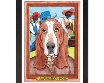 William Houndry Johnson / William Henry Johnson / Zooseum Art Print
