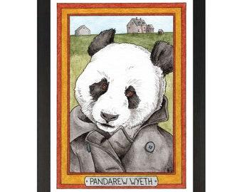 Pandarew Wyeth / Andrew Wyeth / Zooseum Art Print