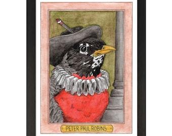 Peter Paul Robins / Peter Paul Rubens / Zooseum Art Print