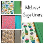 Midwest Cage Liner - CAGE LINERS - 24x47 - Guinea Pig Cage Liner - Fleece Liner - Fleece Cage Liner - Piggy Fleece - Uhaul Liner