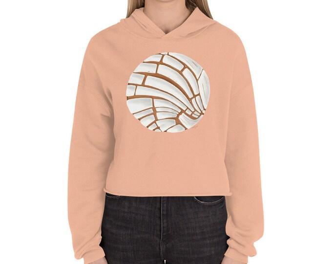 Pan Dulce Crop Hoodie Pan Dulce Sweater Concha Sweater Pan Dulce Crop Sweater Hispanic Latina Baker Gift Chicana Mexican Sweater Halloween