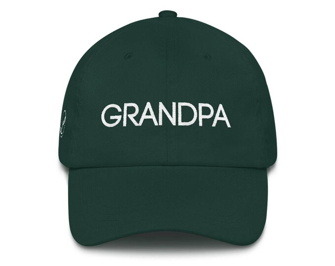 Featured listing image: Grandpa Dad Hat