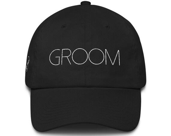 Groom Dad Hat Cotton Cap   Wedding Gift   Groom Hat   Groom Gift Wedding Present Bridal Party Honeymoon Gift Bachelor Party Hat Best Man