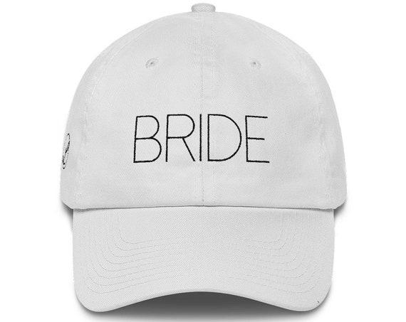 Bride Dad Hat Cotton Cap   Mr & Mrs Gift   Wedding Gift   Bride Hat   Mrs Hat   Wedding Present   Bridal Party   Bridal Shower Honeymoon Gif