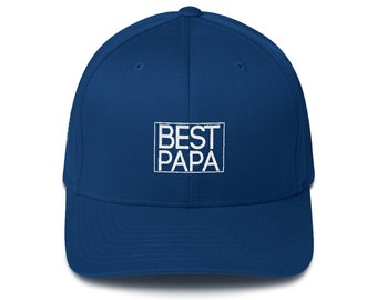 Best Papa Hat Structured Twill Cap Papa Hat Grandpa Hat Grandpa Gift Christmas Gift Papa Gift Grandpa Birthday Gift Papa Christmas Present