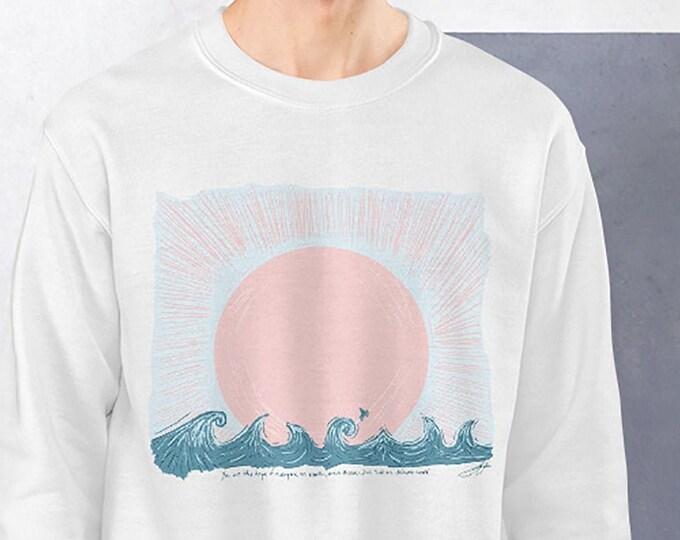 Featured listing image: Sail on Distant Seas Sunset Sweatshirt