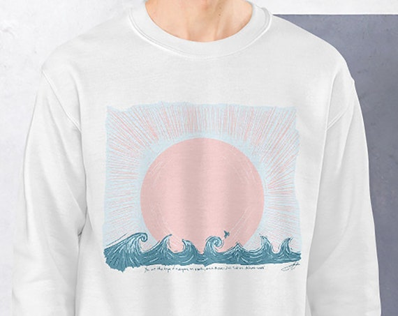 Sail on Distant Seas Sunset Sweatshirt