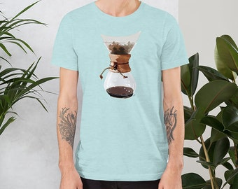 Pour Over T-Shirt for the Coffee Lover Gift