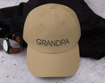 Grandpa Dad Hat Father's Day Gift
