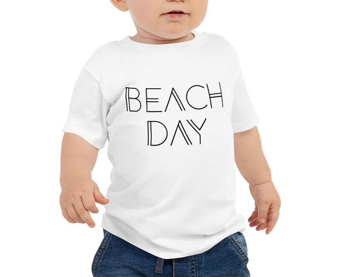 Beach Day Baby T-Shirt - Summer Baby Outfit
