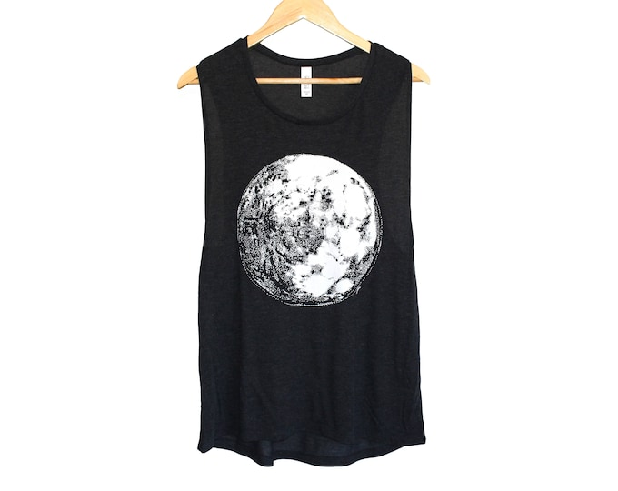 Moon T-Shirt - Full Moon Tank Top