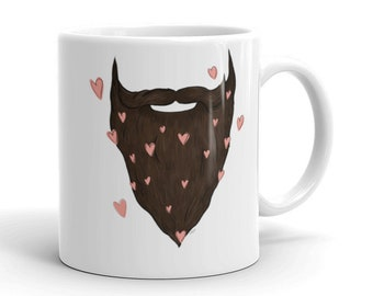 Beard Love Mug | Father's Day Mug | Beard Coffee Mug | Beard Mug | Father's Day Gift | Beard Love | Gift for Him | Gift Ideas Beard Mug Gift