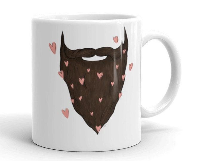 Beard Love Mug | Father's Day Mug | Beard Coffee Mug | Beard Mug | Father's Day Gift | Beard Love | Gift for Him | Gift Ideas Beard Mug Gift