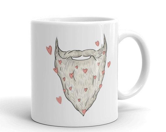 Beard Love Mug | Father's Day Mug | Father's Day Coffee Mug Beard Husband Gift Father's Day Gift Beard Mug Beard Coffee Mug I love beards