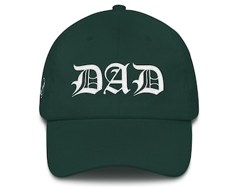 Dad Hat | DAD Cap | Dad Christmas Present | Dad Life Gift | Dad Life Hat | Dad Gift | Best Dad Father Christmas Gift | Dad Birthday Present