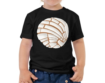 Pan Dulce Toddler T-Shirt - Concha Mexican Baby Outfit