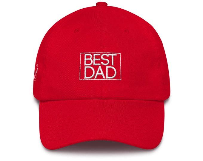 Best Dad Hat Cotton Cap Dad Hat Best Dad Ever Dad Birthday Gift Dad Gift Dad Present Father Gift Dad Father's Day Present Dad Birthday Gift