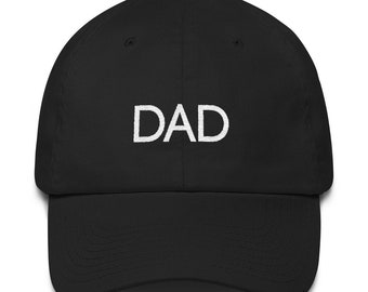 Dad Cotton Cap | Father's Day Gift | Father's Day Hat | Dad Hat Dad Gift Dad Birthday Gift Ideas for Him Daddy Hat New Dad Baby Shower
