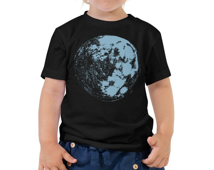 Blue Moon Toddler Shirt - Full Moon Kids Outfit