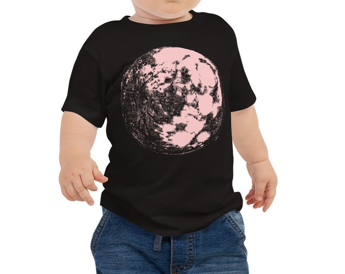 Pink Moon Baby Shirt - Full Moon Baby Outfit