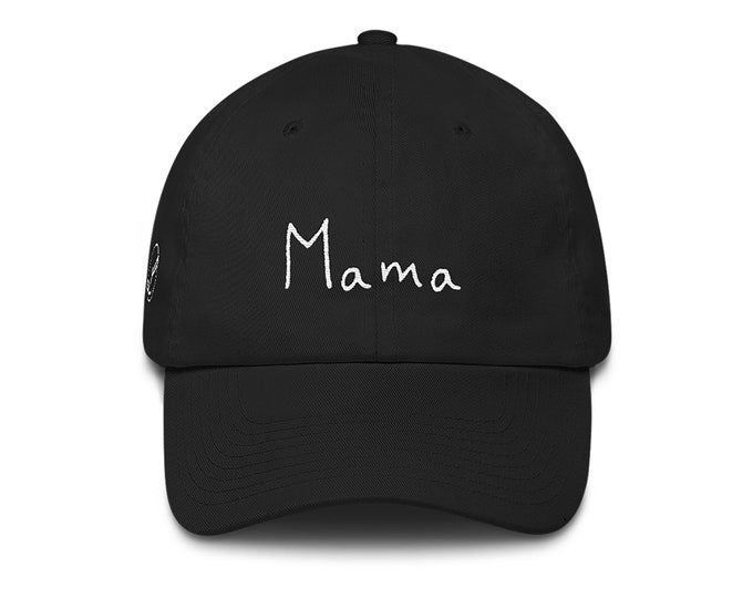 Mama Dad Hat | Mama Cotton Cap | Mama Hat | Gift for Mom | Mommy Hat | Mommy Dad Cap | BirthdayGift for Her | Mom Birthday Present Mom Hat