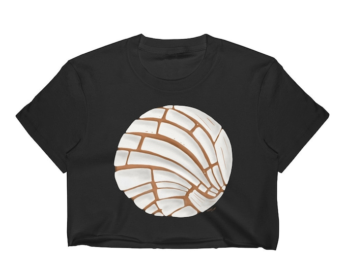 Pan Dulce Crop Top - Concha T-Shirt