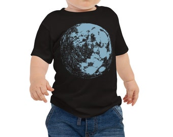 Blue Moon Baby Shirt - Full Moon Baby Outfit