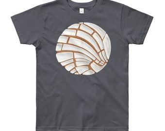 Pan Dulce Youth Short Sleeve T-Shirt 8yrs-12yrs | Pan Dulce Shirt Concha Shirt Hispanic Gift Latinx Shirt Baking Bakery Bread Shirt Mexican