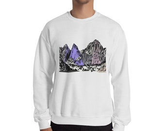 Mountains Sweatshirt | Mt Whitney Shirt Mount Whitney Shirt Hiking California Outdoors Mountain Gift Sierra Mountains Gift Sierra Nevada