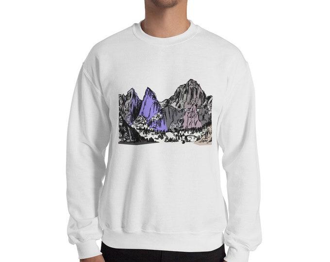 Mountains Sweatshirt | Mt Whitney Shirt Mount Whitney Shirt Hiking California Outdoors Mountain Gift Sierra Mountains Gift Sierra Nevada