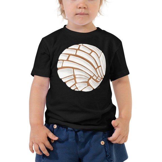 Pan Dulce Toddler T-Shirt - Concha Mexican Baby Outfit | Christmas Gift