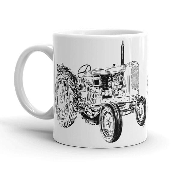 Tractor Coffee Mug | Farm Mug | Tractor Coffee Cup | Farm Life Coffee Mug | Farmer Coffee Mug | Farm House Style Kitchen | Coffee Life