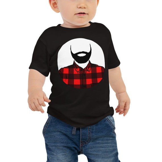 Lumberjack Baby Jersey Short Sleeve Tee 6M-24M | Lumberjack Infant Shirt | Lumberjack Baby Shirt | Baby Outfit | Beard Baby Shirt | Bearded
