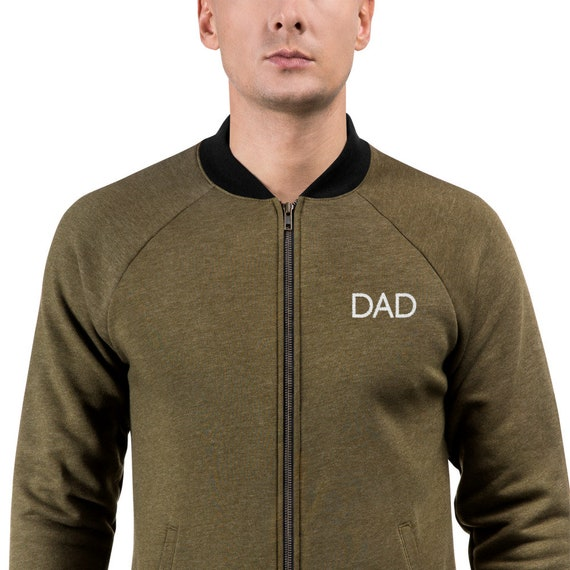 DAD Bomber Jacket | Father's Day Gift | Dad Birthday Gift | Dad Gift | Gift for Dad | Dad jacket | New Dad Gift | Baby Shower Gift