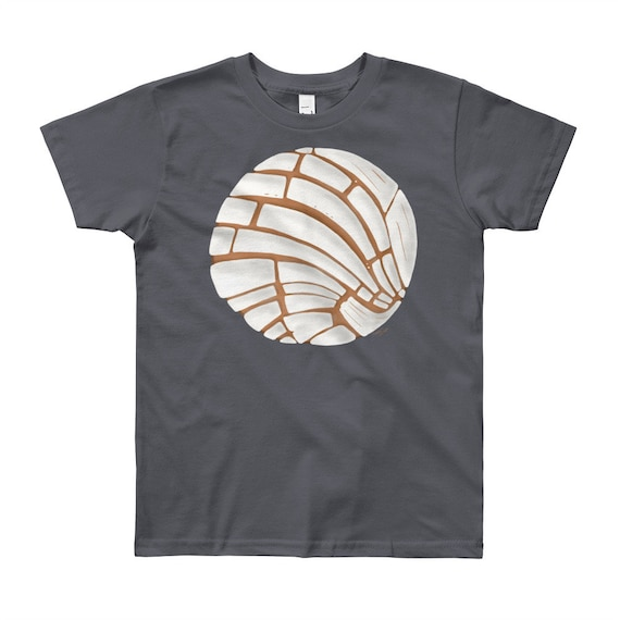 Pan Dulce Youth Short Sleeve T-Shirt 8yrs-12yrs | Pan Dulce Shirt Concha Shirt Hispanic Gift Latinx Shirt Baking Bakery Bread Shirt Mexican