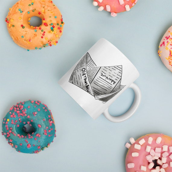 Newspaper Boat Mug | Newspaper Boat Coffee Mug | Boat | Gift | Adventure Mug | Writer Mug | Entrepreneur Mug Entrepreneur Gift Business Mug