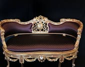 SOLD Louis XV French Style Settee