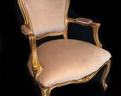 SOLD Classic Louis XV style accent chair