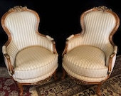 SOLD Louis XV style accent chairs