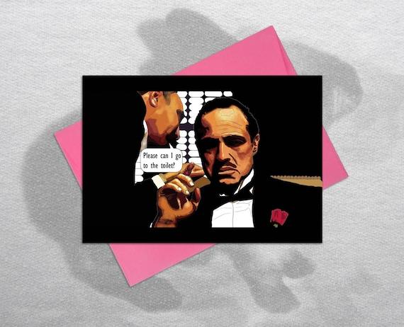 The Godfather Funny Birthday Card