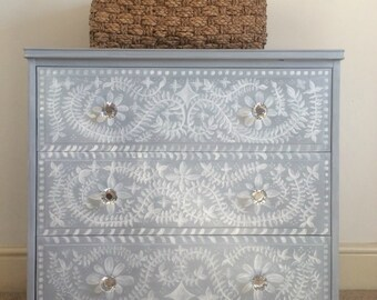 Talland Bay Mural Chest of Drawers