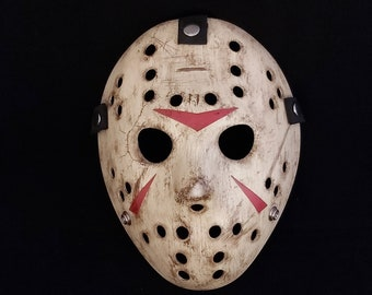 JASON MASK FRIDAY The 13th PART IV 4 Custom USA Halloween REPLICA Horror
